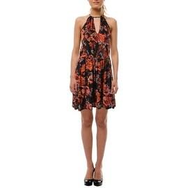 Guess Womens Sleeveless Knee-Length Casual Dress - M