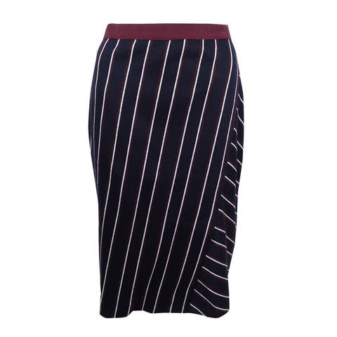 Tommy Hilfiger Women's Striped Skirt - midnight multi - 4
