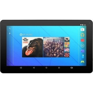 Ematic Egq235skbu 16Gb Android 7.1 Tablet With Keyboard Folio Case And Headphones