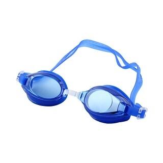 Clear Vision Anti Fog Swim Glasses Swimming Goggles Dark Blue for Boys Girls