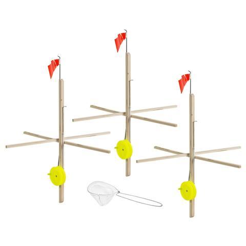 Celsius itu-3/kit 3 pack tip up w/line & net