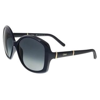 Chloe CE663/S 424 Blue Square Sunglasses