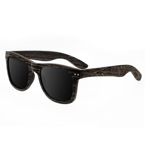 Earth Wood Cape Cod Unisex Wood Sunglasses - 100% UVA/UVB Prorection - Polarized/Mirrored Lens - Multi