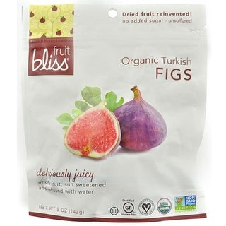 Fruit Bliss - Dried Turkish Figs ( 6 - 5 oz bags)