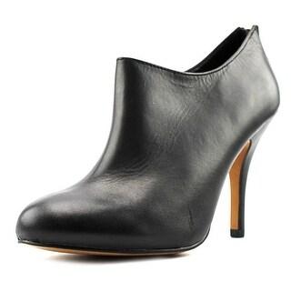 Aldo Marina Women  Round Toe Leather Black Bootie