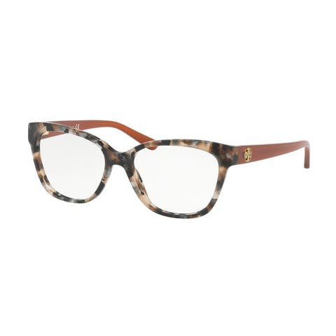 Tory Burch TY2079 1682 53 Pearl Brown Tort Woman Square Eyeglasses
