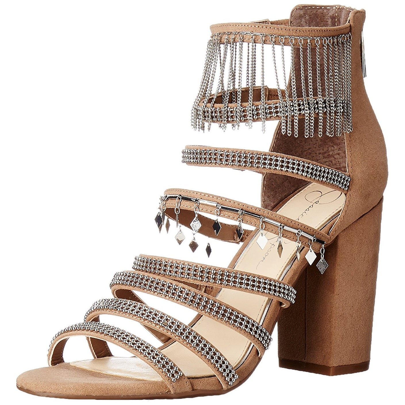 Jessica Simpson Katalena Women/'s Strappy Sandals Brown
