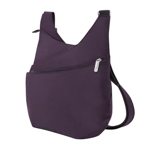 Travelon Women's Anti-Theft Classic Light Drape Front Shoulder Bag - One size