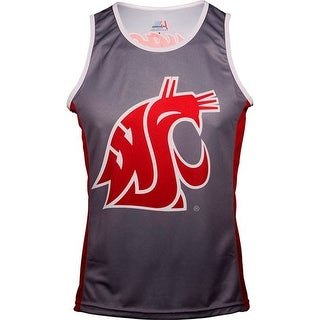 Adrenaline Promotions Women's Washington State University Run/Tri Singlet - grey
