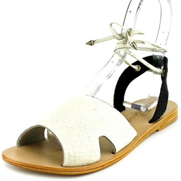 Matisse Townie Women Open Toe Leather White Gladiator Sandal