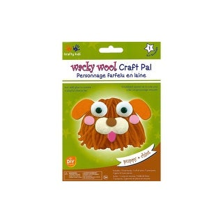 Multicraft Krafty Kids DIY Kit Wacky Wool Puppy