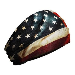 That's A Wrap Unisex Old Glory Flag Knotty Band, Ultra-Soft Performance KB2522 - One Size Fits most