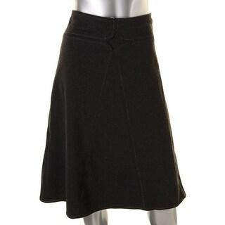 Studio M Womens A-Line Knee-Length A-Line Skirt