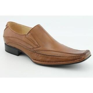 Steve Madden Bigg Men Round Toe Leather Loafer