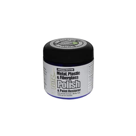 Flitz Metal Plastic and Fiberglass Polish Paste - 1.0lb Polish Paste