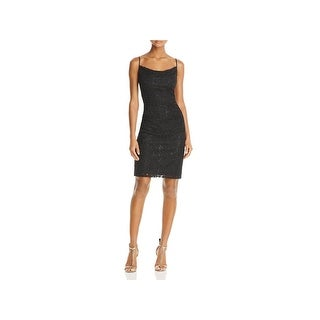 Laundry by Shelli Segal Womens Cocktail Dress Lace Shirred (More options available)