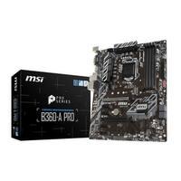 Msi - Components - B360apro