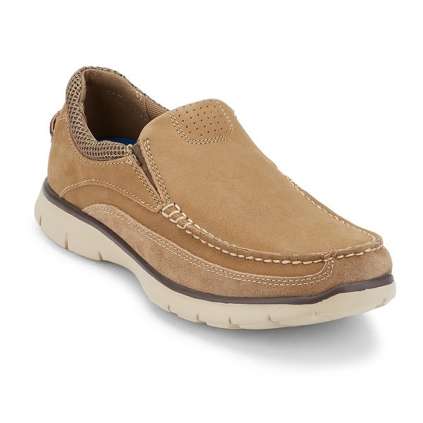 Shop Dockers Mens Walsh Leather Casual Loafer Shoe Free