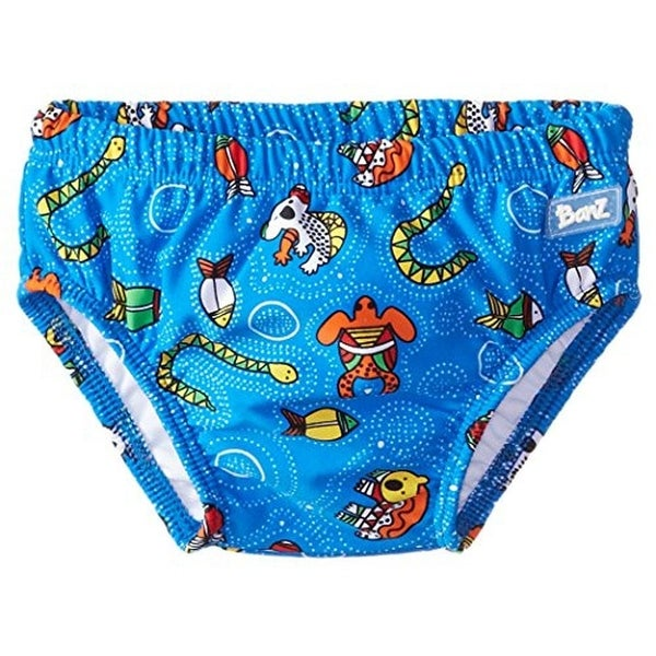 Baby Banz Printed Infant Boys Swim Briefs - M