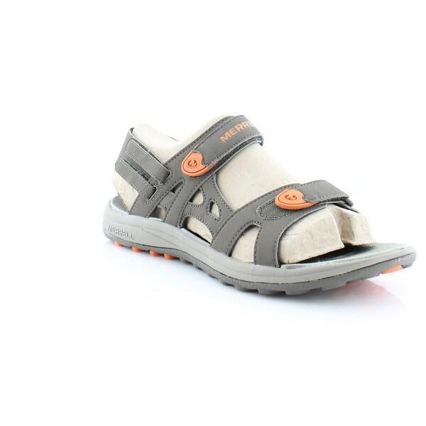 Merrell Cedrus Convertible Men's Sandals & Flip Flops Boulder/B. Orange