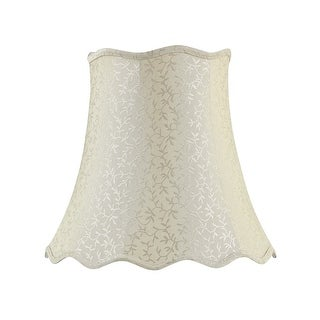 "Link to Aspen Creative Bell Shape Spider Construction Lamp Shade in Beige (10"" x 16"" x 15"") Similar Items in Lamp Shades"