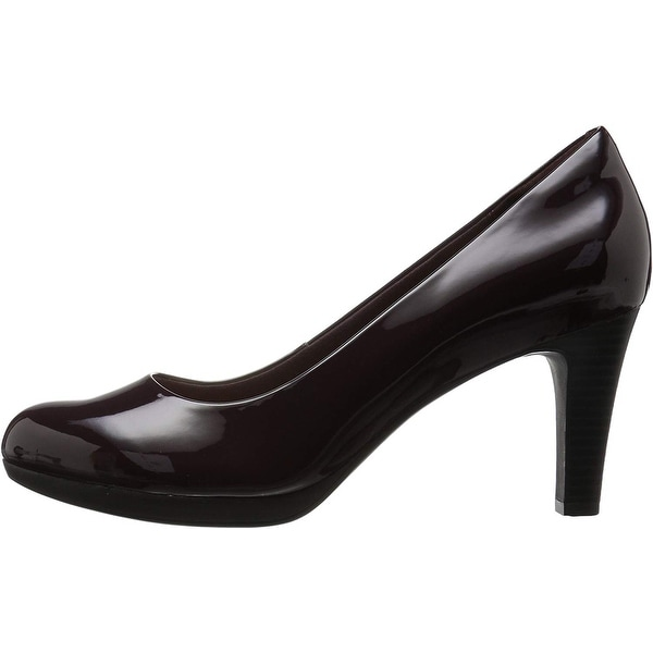 Shop Clarks Womens Adriel Viola Closed Toe Classic Pumps