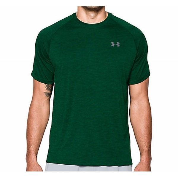 a6a2d9f7 Shop Under Armour NEW Green Mens Size XL Crew Neck Logo Tech Athletic T- Shirt 109 - Free Shipping On Orders Over $45 - Overstock - 18223471