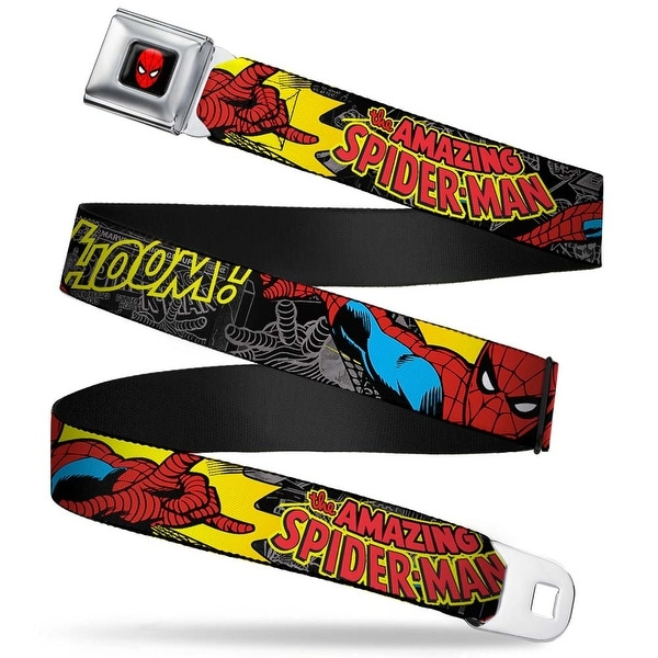 Marvel Comics Spider Man Full Color Spider Man In Action W Amazing Spider Seatbelt Belt