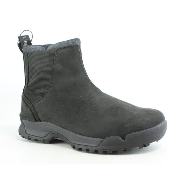 5cfe1d3865a Shop SOREL Mens Paxson Black Snow Boots Size 7 - Free Shipping On ...