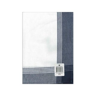 Dunroven House Towel 20x28 McLeod No Strp Navy