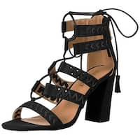 Report Womens Myra Open Toe Casual Strappy Sandals