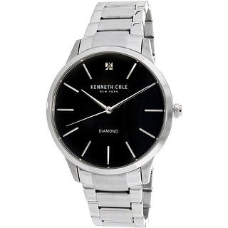 Kenneth Cole Men's Casual watch KC15111005 Silver Stainless-Steel Plated Fashion