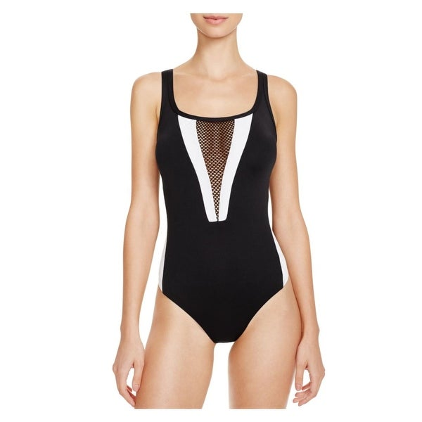 b00c8798e Shop La Blanca Womens Game Set Mesh Mesh Insert Colorblock One-Piece  Swimsuit - Free Shipping On Orders Over  45 - Overstock - 15997534