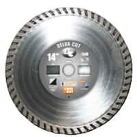 "Diamond Products 21205 Turbo Saw Blade, 12"" x .125"""