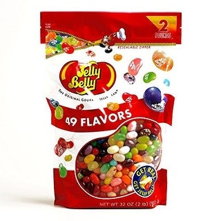 Jelly Belly Beananza 2-Pound Bag (4 Items Per Order)