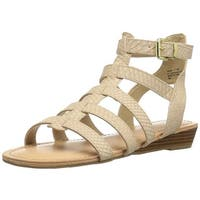 Madden Girl Women's Trary Gladiator Sandal - 7