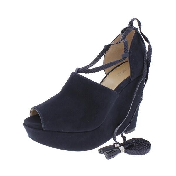 MICHAEL Michael Kors Womens Hastings Dress Sandals Open Toe Braided