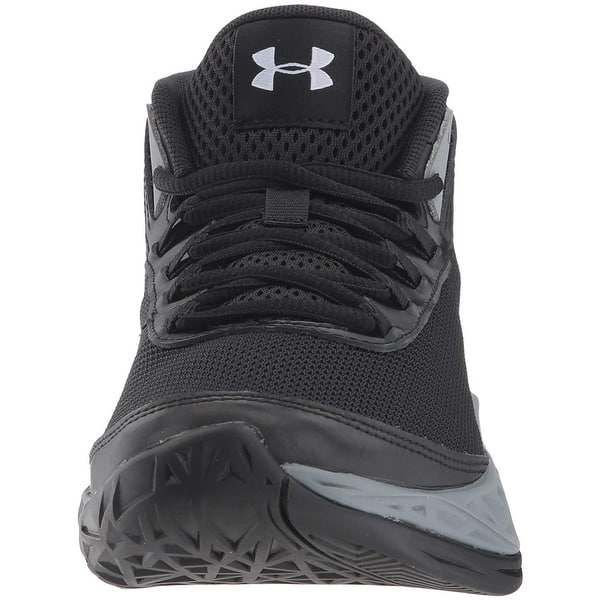 lamentar Farmacología Personal  Kids Under Armour Girls Jet 2018 Fabric Hight Top Lace Up Basketball Shoes  - Overstock - 28248394 - Black (001)/Red - 3.5