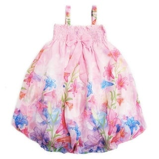 Link to Wenchoice Little Girls Pink Lily Straps Bow Chiffon Baby Doll Dress Similar Items in Shirts