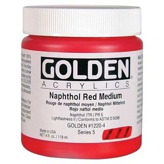Golden - Heavy Body Acrylic - 4 oz. Jar - Yellow Ochre