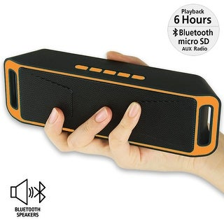 Indigi® Outdoor Portable Wireless Bluetooth Speaker Stereo Super Bass w/ USB/TF/FM Radio
