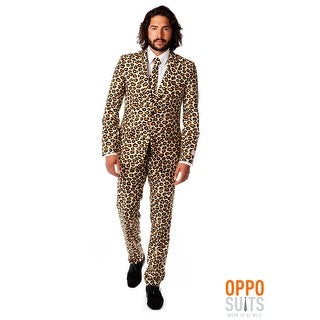 Men's OppoSuits Jaguar Print Suit
