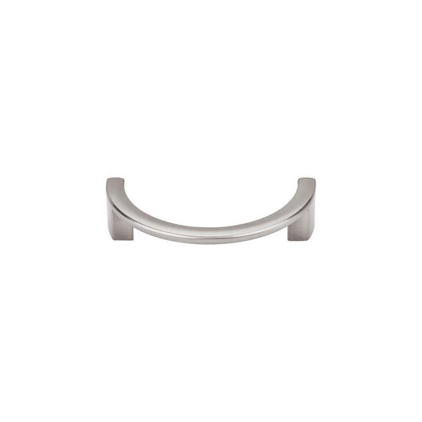 """Top Knobs TK53 Half Circle 3-1/2"""" Center to Center Handle Cabinet Pull from the Sanctuary Series - n/a"""