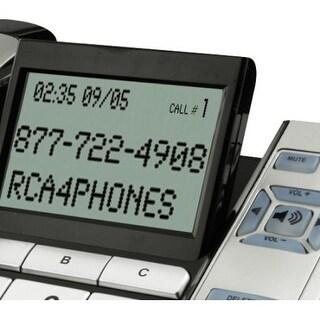 Rca 1113-1Bsga Corded Desktop Phone With Caller Id, Silver