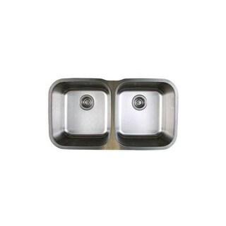 "Blanco 441020 Stellar Equal Double Bowl Stainless Steel Undermount Kitchen Sink 33 1/3"" x 18 1/2"""