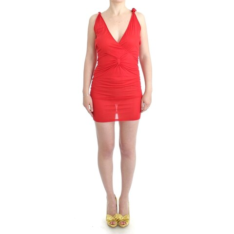 Costume National Costume National Red tube mini dress - it42-m