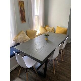 Carbon Loft Barnett Solid Wood Dining Table
