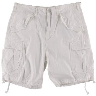 Polo Ralph Lauren Mens Relaxed Fit Flap Pockets Cargo Shorts - 33