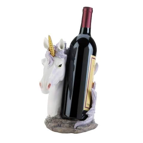 Popular Unicorn Mane Wrapped Wine Bottle Holder