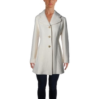 Jessica Simpson Womens Wool Blend Fitted Pea Coat